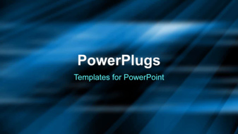 PowerPoint Template - An Abstract streaks background